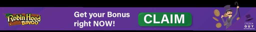 banner bonus robin hood