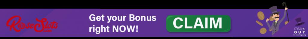 rose slots bonus banner