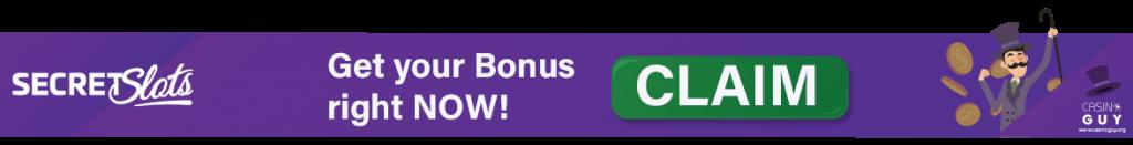banner secret slots casino online bonus