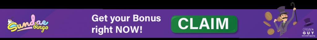 banner bonus sandae bingo