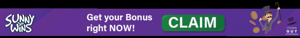 banner sunny wins bonus