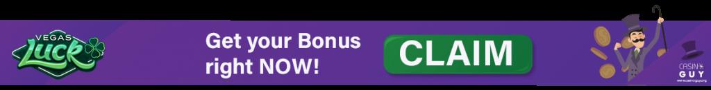 banner bonus vegas luck casino