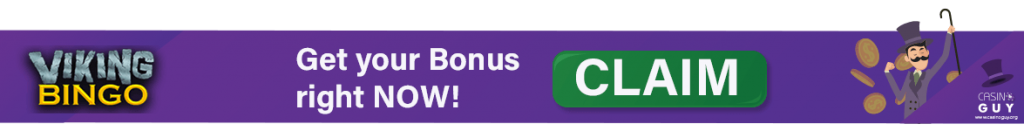 bonus banner viking bingo