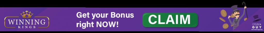 baner bonus winning kings