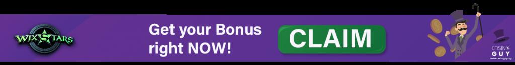 wixstars casino banner bonus