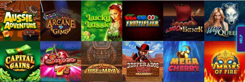 screenshot arcade spins games