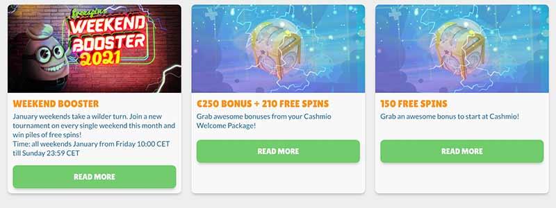 cashmio bonus screenshot