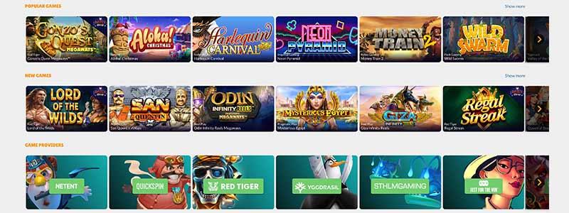 cashmio games screenshot
