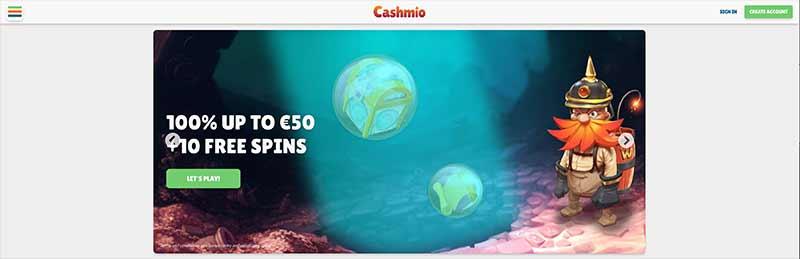 cashmio interface screenshot