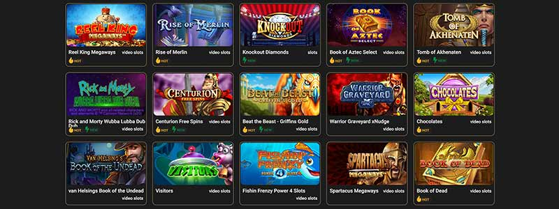 screenshot casino casino games