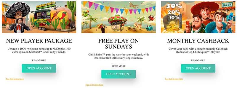 screenshot chilli casino bonus