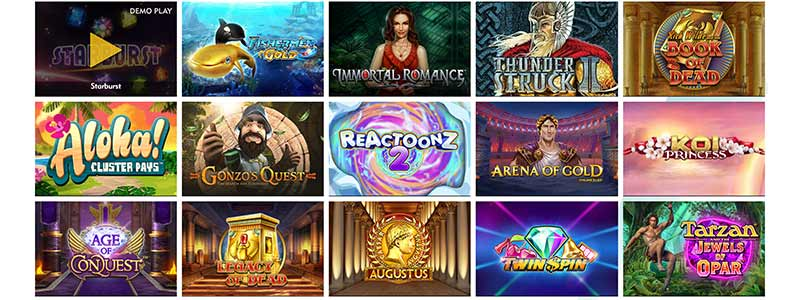 screenshot dazzle casino games