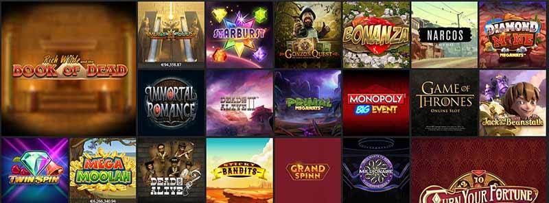 screenshot hello casino games