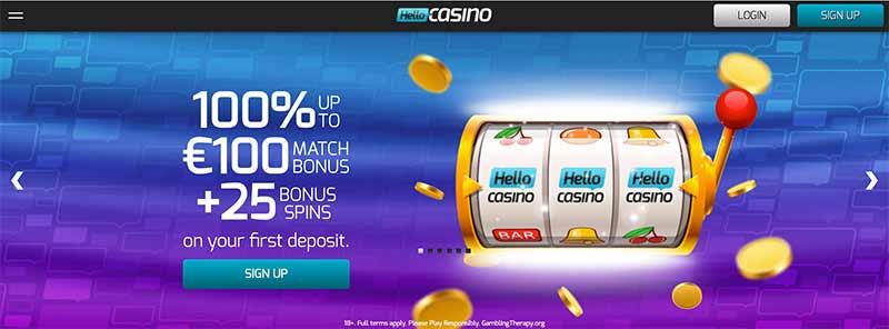 screenshot hello casino interface
