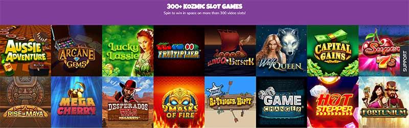 Kozmo bingo games screenshot