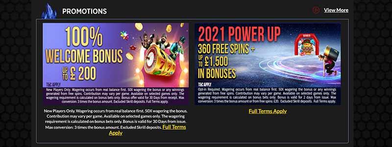 screenshot lucks casino bonus