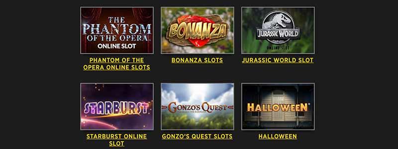 screenshot lucks casino games