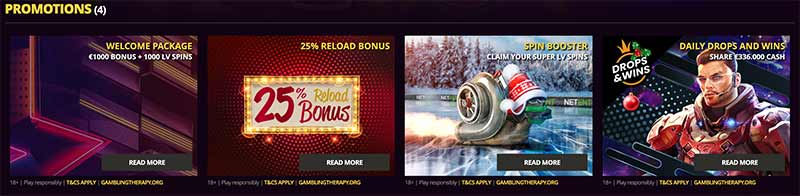 lvbet bonus screenshot