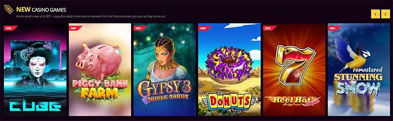 lvbet games screenshot