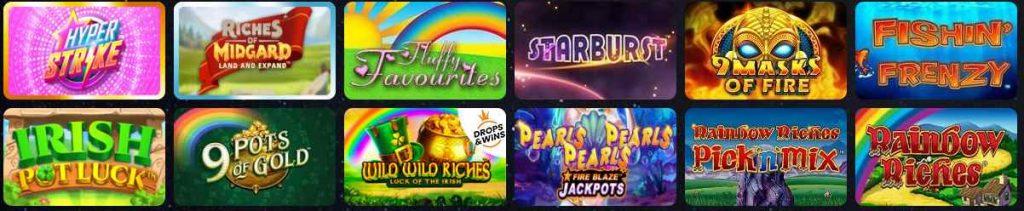 screenshot mega reel casino games