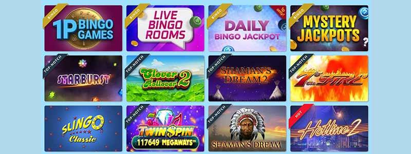 moon bingo games screenshot