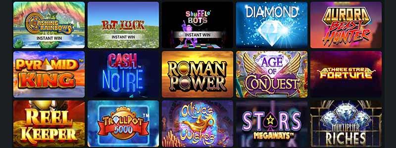 plush casino games screenshot