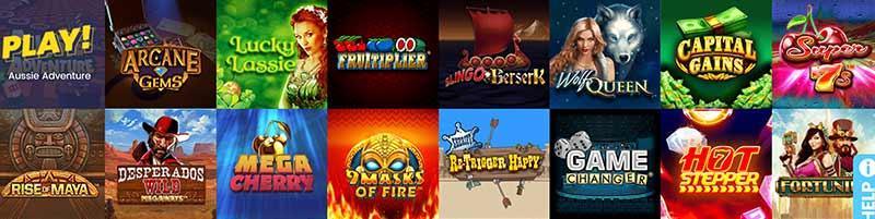 casino games rise screenshot