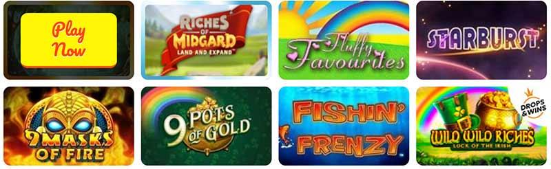 rose slots games screenshot