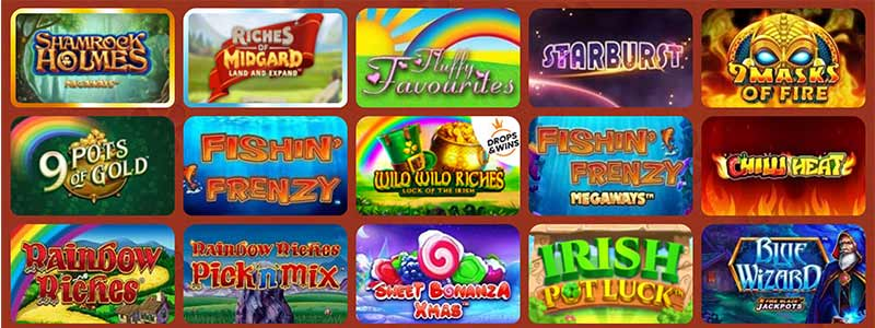 simba slots casino games screenshot