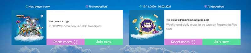 screenshot sloty casino bonus