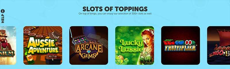 sundae bingo games screenshot