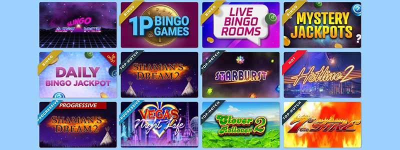 ted bingo games screenshot