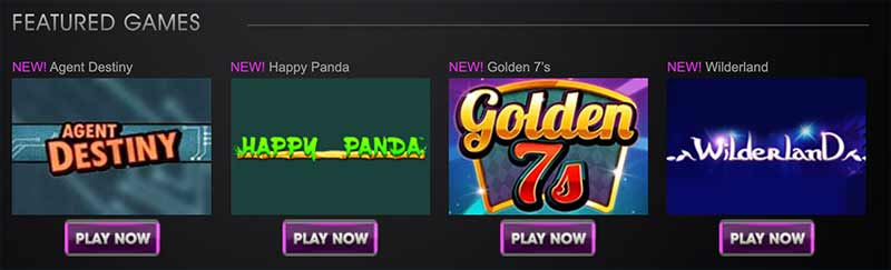 vegas paradise games screenshot