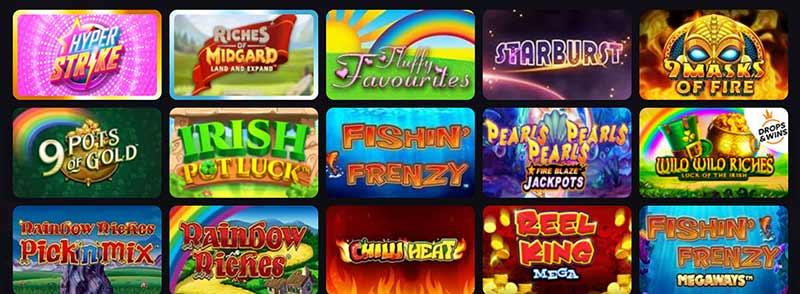 screenshot win british casino games
