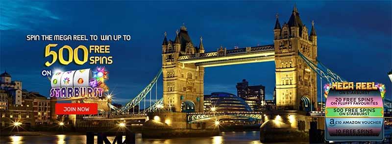 screenshot win british casino interface