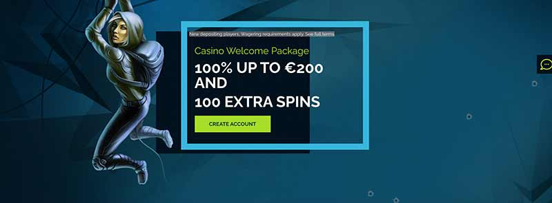 wixstars casino interface screenshot