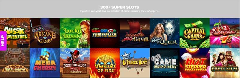 yay bingo games screenshot