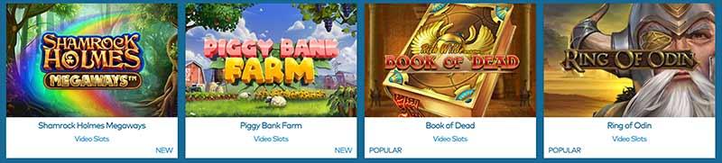 yeti casino games screenshot