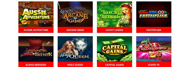 screenshot zinger bingo games
