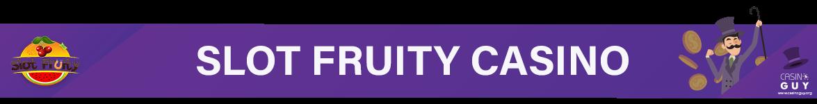 slot fruity casino banner