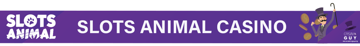 slots animal casino banner