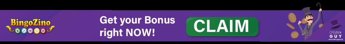 banner bonus bingozino