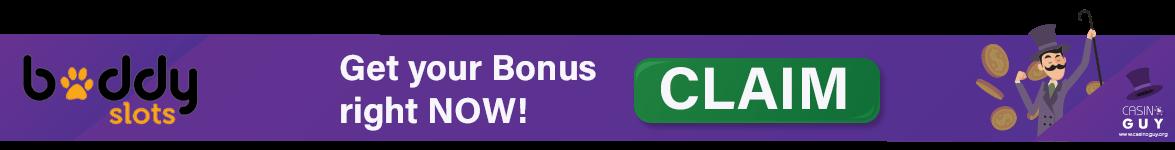 buddy slots bonus banner