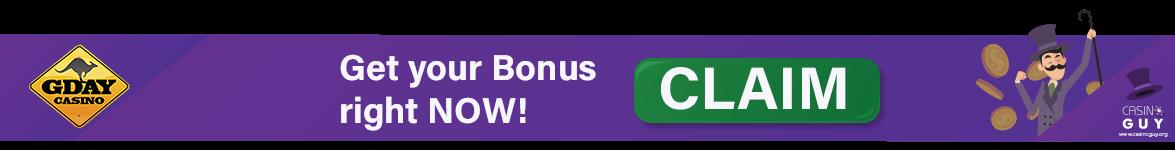 gday casino bonus banner