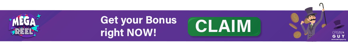 mega reel bonus banner