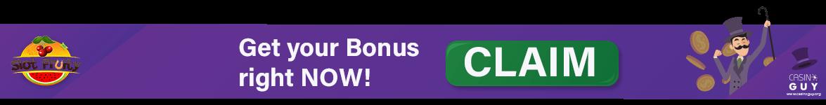 slot fruity banner casino bonus