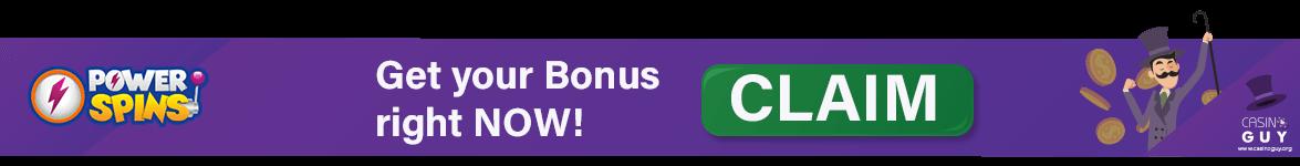 banner claim bonus powerspins