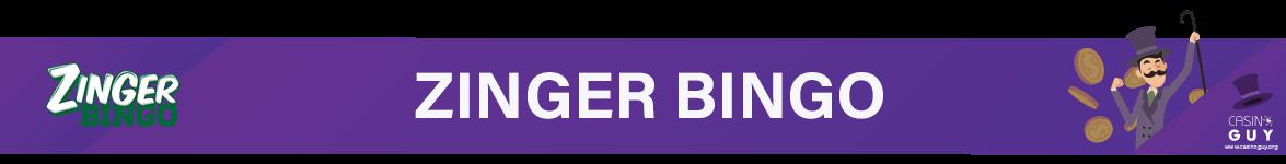 zinger bingo banner