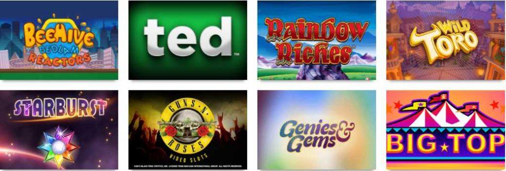 screenshot play casino games