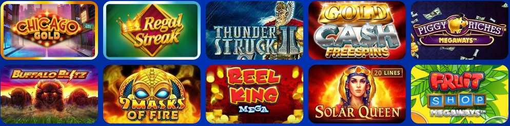 screenshot spinhill casino games
